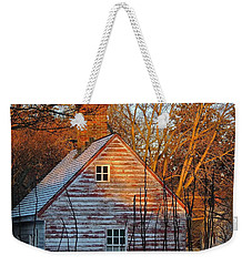 Weekender Tote Bag featuring the photograph Stark... by Don Moore
