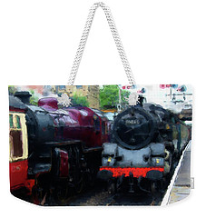 Steam Trains Weekender Tote Bag