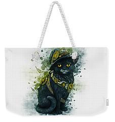 Steampunk Kitty Weekender Tote Bag