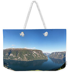 Stegastein, Norway Weekender Tote Bag