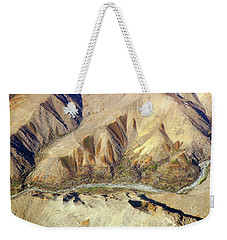 Weekender Tote Bag featuring the photograph Steps Of Fertility by SR Green