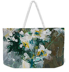 Still Life With White Anemones Weekender Tote Bag