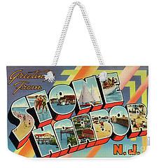 Stone Harbor Greetings Weekender Tote Bag
