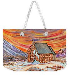 Stone Refuge Weekender Tote Bag