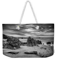 Weekender Tote Bag featuring the photograph Storm At Leo Carrillo by John Rodrigues