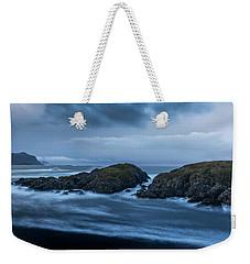 Storm At The Sea Weekender Tote Bag