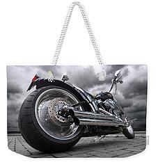 Storming Harley Weekender Tote Bag