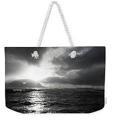 stormy coastline in northern Norway Weekender Tote Bag