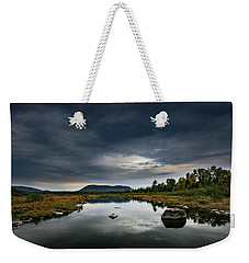 Stormy Day In Maine Weekender Tote Bag