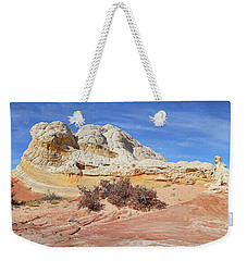 Weekender Tote Bag featuring the photograph Strange Structures by Theo O'Connor