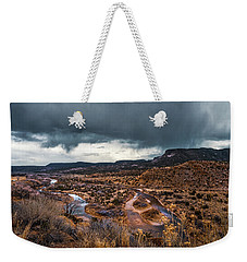 Stream And A Storm Weekender Tote Bag