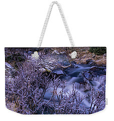 Stream Weekender Tote Bag