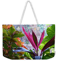 Weekender Tote Bag featuring the photograph In The Pink by Rosanne Licciardi
