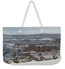 Striped Overview Weekender Tote Bag