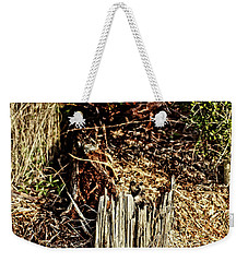 Stump In Swamp Weekender Tote Bag
