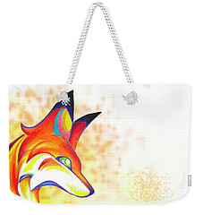 Stylized Fox I Weekender Tote Bag