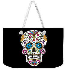 Sugar Skull Day Of The Dead Weekender Tote Bag