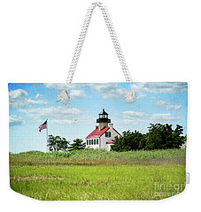 Summer At East Point Lighthouse II Weekender Tote Bag