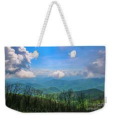 Summer Mountain View Weekender Tote Bag