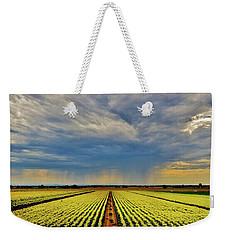 Summer Storm In The Corn Fields Weekender Tote Bag