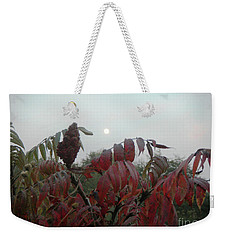 Weekender Tote Bag featuring the photograph Summer's End by Rosanne Licciardi