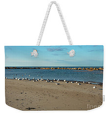 Sun Bathers At Corporation Beach Cape Cod Weekender Tote Bag