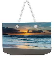 Sun Glow Seascape Weekender Tote Bag