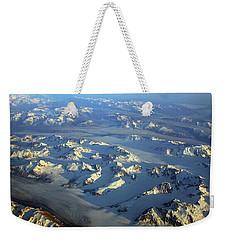 Sun Kissed Glaciers Weekender Tote Bag