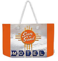 Sun 'n Sand Motel  Weekender Tote Bag