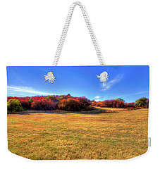 Weekender Tote Bag featuring the photograph Sun On Magpie Forest by David Patterson