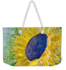 Sunflower Praises Weekender Tote Bag