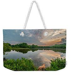 Sunrise At Ross Pond Weekender Tote Bag