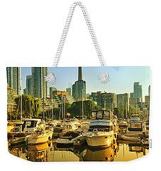 Sunrise At The Harbour Weekender Tote Bag