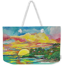 Sunrise At The Islands Weekender Tote Bag