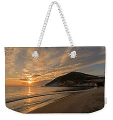 Sunrise On The Beach Of The Genoveses Of Cabo De Gata Weekender Tote Bag