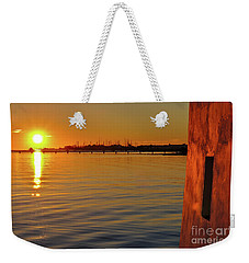 Sunset And Old Watermill Weekender Tote Bag