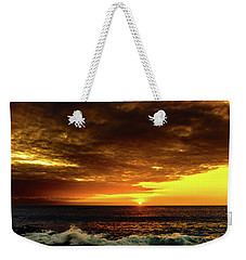 Sunset And Surf Weekender Tote Bag
