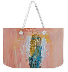 Sunset Angel Weekender Tote Bag