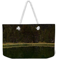 Weekender Tote Bag featuring the photograph Sunset At Ibonet De Batisielles by Stephen Taylor