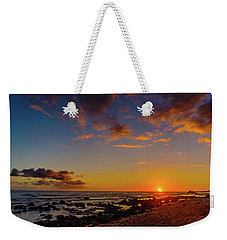 Sunset At Kailua Beach Weekender Tote Bag