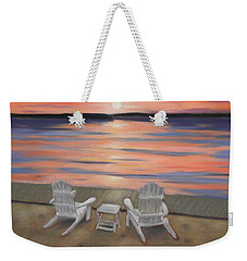 Sunset At Mairs Weekender Tote Bag