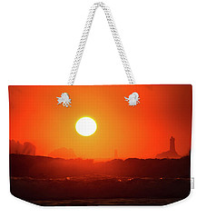 Sunset At Pointe Du Raz Weekender Tote Bag