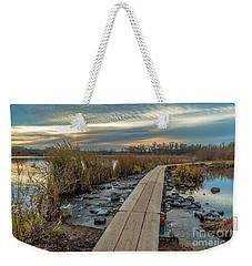 Sunset At Purgatory Creek Weekender Tote Bag
