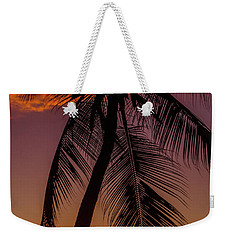 Sunset At The Palm Weekender Tote Bag
