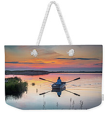 Sunset  Crossing Weekender Tote Bag