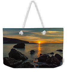 Sunset In Balandra Weekender Tote Bag