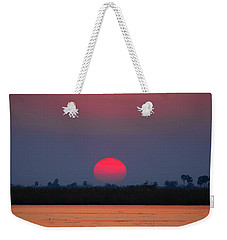 Sunset In Botswana Weekender Tote Bag