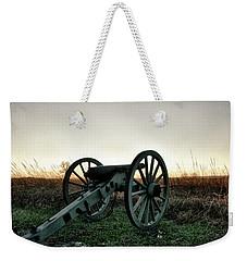 Sunset In Defense Weekender Tote Bag