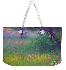 Sunset In Flower Meadow Weekender Tote Bag