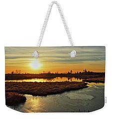 Sunset In Pitt Meadows Weekender Tote Bag